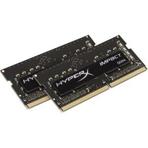 HyperX Impact - DDR4 - kit - 32 GB: 2 x 16 GB - SO-DIMM 260-pin - 3200 MHz / PC4-25600 - CL20 - 1.2 V - unbuffered - non-ECC