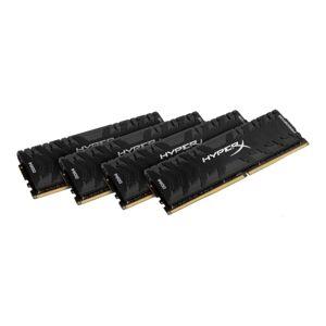 HyperX Predator - DDR4 - kit - 32 GB: 4 x 8 GB - DIMM 288-pin - 3200 MHz / PC4-25600 - CL16 - 1.35 V - unbuffered - non-ECC - black