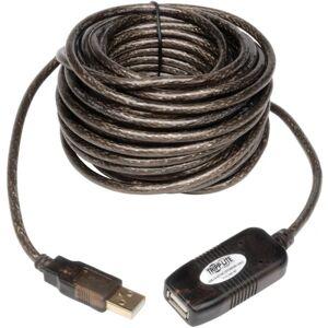 Tripp Lite 16ft USB 2.0 Extension Cable Active USB-A Male / USB-A Female - Type A Male USB - Type A Female USB - 16ft