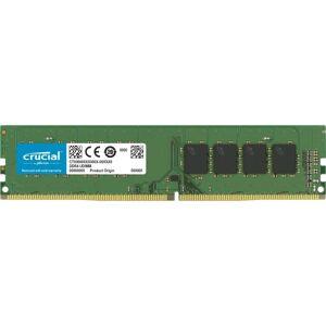 Crucial 16GB DDR4 SDRAM Memory Module - 16 GB - DDR4-2400/PC4-19200 DDR4 SDRAM - CL17 - 1.20 V - Non-ECC - Unbuffered - 288-pin - DIMM