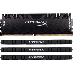 HyperX Predator - DDR4 - kit - 32 GB: 4 x 8 GB - DIMM 288-pin - 3333 MHz / PC4-26600 - CL16 - 1.35 V - unbuffered - non-ECC - black