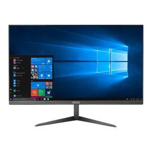 """MSI PRO 24X 10M-226US All-in-One Computer - Intel Core i3 10th Gen i3-10110U Dual-core (2 Core) 2.10 GHz - 8 GB RAM DDR4 SDRAM - 1 TB HDD - 23.8"""" Full"""