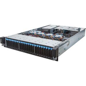Gigabyte R280-F2O Barebone System - 2U Rack-mountable - Intel C612 Chipset - Socket R3 LGA-2011 - 2 x Processor Support - 128 GB DDR4 SDRAM DDR4-2400/
