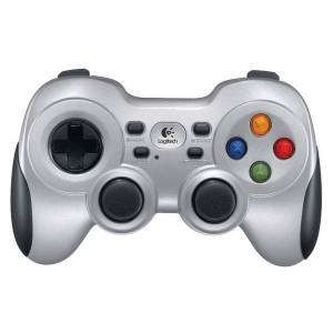 Logitech? Wireless Gamepad F710 Gaming Controller, Black; Silver