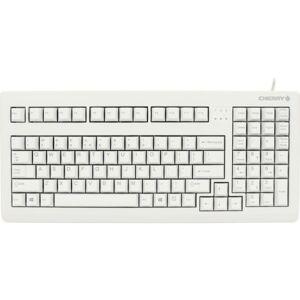 CHERRY MX 1800 Keyboard - Wired - USB & PS/2 - English (US) - Light Gray