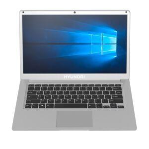 "Hyundai Thinnote-A Laptop , 14.1"" Screen, Intel Celeron, 4GB Memory, 64GB eMMC Drive, Windows 10 Home, Silver"