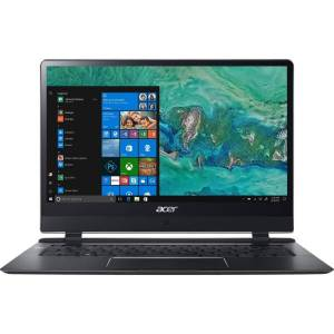 "Acer Swift 7 SF714-51T-M871 14"" Touchscreen Notebook - 1920 x 1080 - Core i7 i7-7Y75 - 8 GB RAM - 256 GB SSD - Windows 10 Pro 64-bit - Intel HD Graphi"