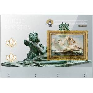 """LG Transparent OLED Touch Signage - 55"""" OLED - Touchscreen - 1920 x 1080 - LED - 400 Nit - 1080p - HDMI - USB - SerialEthernet - Matte Silver"""