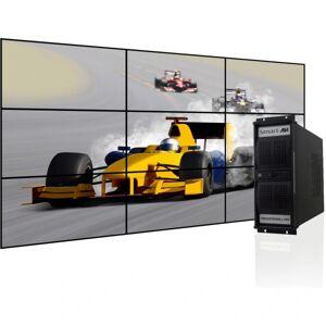 SmartAVI PresenterWall Digital Signage Appliance, Intel Processor, 2GB Memory, 120GB Hard Drive, VW-09XVAS