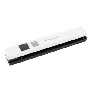 I.R.I.S. IRIS Iriscan Anywhere 5-White Portable Document And Photo Scanner - 12 ppm (Mono) - 12 ppm (Color) - PC Free Scanning - USB