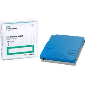 HPE LTO Ultrium 5 WORM Data Cartridge with Barcode Labeling - LTO-5 - WORM - Labeled - 1.50 TB (Native) / 3 TB (Compressed) - 2775.59 ft Tape Length -