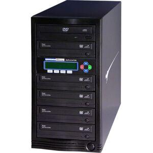 Kanguru 1-to-5, 24x DVD Duplicator - Standalone - DVD-ROM, DVD-Writer - 24x DVD R, 24x DVD-R, 12x DVD R, 12x DVD-R, 52x CD-R - 22x DVD R/RW, 22x DVD-R