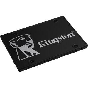 "Kingston KC600 512 GB Solid State Drive - 2.5"" Internal - SATA (SATA/600) - Desktop PC, Notebook Device Supported - 300 TB TBW - 550 MB/s Maximum Read"