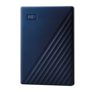 Western Digital My Passport External Portable Hard Drive For Mac, 2TB, WDBA2D0020BBL-WESN, Blue