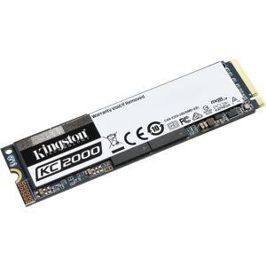 Kingston KC2000 250 GB Solid State Drive - M.2 2280 Internal - PCI Express (PCI Express 3.0 x4) - 150 TB TBW - 3000 MB/s Maximum Read Transfer Rate -