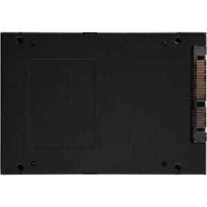 "Kingston KC600 1 TB Solid State Drive - 2.5"" Internal - SATA (SATA/600) - Desktop PC, Notebook Device Supported - 600 TB TBW - 550 MB/s Maximum Read T"