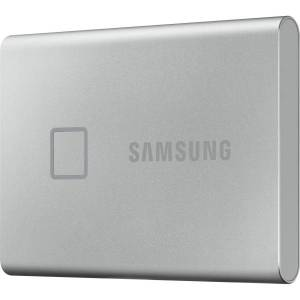 Samsung T7 MU-PC500S/WW 500 GB Portable Solid State Drive - External - PCI Express NVMe - Silver - Smartphone, Smart TV, Gaming Console, Tablet PC Dev