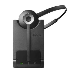 Jabra Pro 920 Mono Headset - Mono - Wireless - DECT - 393.7 ft - Over-the-head, Behind-the-neck - Monaural - Supra-aural - Noise Cancelling, Noise Red