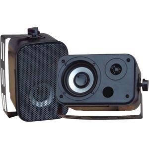 Pyle Pro PDWR30B 150W RMS 2-Way Indoor/Outdoor Wall-Mountable Speaker