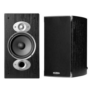 Polk Audio RTiA3 Bookshelf Speakers, Black, Pack Of 2, RTIA3