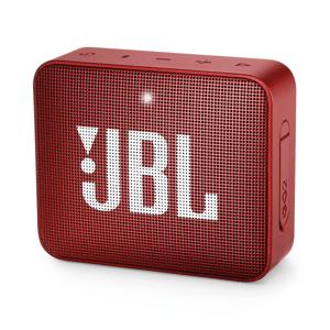 JBL GO 2 Portable Bluetooth Speaker, Red