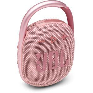 JBL CLIP 4 Ultra-Portable Waterproof Speaker, Pink