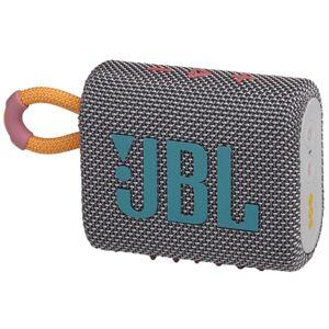 JBL GO 3 Portable Waterproof Speaker, Gray
