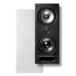 Polk Audio 265-RT Vanishing RT Series In-Wall Loudspeaker, White, 265RT