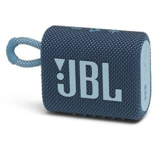 JBL GO 3 Portable Waterproof Speaker, Blue