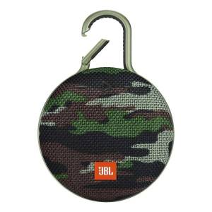 JBL Clip 3 Portable Bluetooth� Speaker, Camo Squad, JBLCLIP3SQUAD