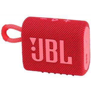 JBL GO 3 Portable Waterproof Speaker, Red
