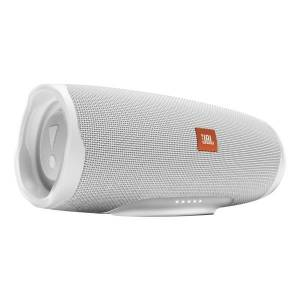 JBL Charge 4 Portable Bluetooth Speaker, White, JBLCHARGE4WHT