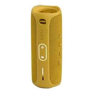 JBL Flip 5 Portable Waterproof Speaker, Yellow, JBLFLIP5YELAM-Q