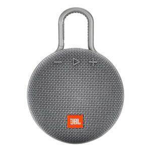 JBL Clip 3 Portable Bluetooth Speaker, Gray, JBLCLIP3GRY