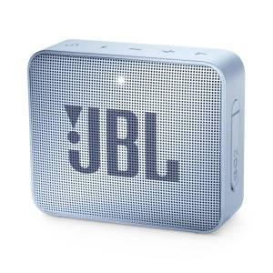JBL GO 2 Portable Bluetooth Speaker, Cyan