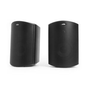 Polk Audio Atrium5 All-Weather Outdoor Speakers, Black, Pair, ATRIUM5