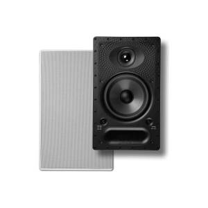 Polk Audio 65-RT Vanishing RT Series In-Wall Rectangular Loudspeaker, White, 65RT