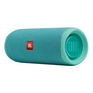 JBL Flip 5 Portable Waterproof Speaker, Teal, JBLFLIP5TEALAM-Q