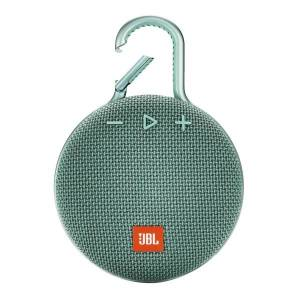 JBL Clip 3 Portable Bluetooth Speaker, Teal, JBLCLIP3TEAL