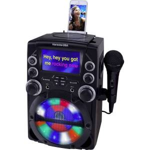 """IXT SYSTEMS DOK GQ740 CD+G Karaoke System with 4.3"""" Color TFT Screen"""