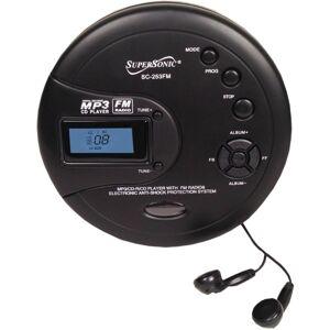 Supersonic SC-253FM - CD player - black