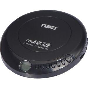 Naxa NPC-320 CD Player - Black - FM Tuner - CD-DA, MP3