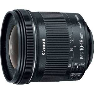 Canon - 10 mm to 18 mm - f/5.6 - Ultra Wide Angle Lens for Canon EF-S - Designed for Digital Camera - 67 mm Attachment - 0.15x Magnification - 1.8x Op