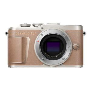"Olympus PEN E-PL10 16.1 Megapixel Mirrorless Camera Body Only - Brown - 4/3"" Sensor - Autofocus - 3"" Touchscreen LCD - 4608 x 3456 Image - 3840 x 2160"