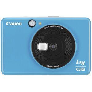 Canon IVY CLIQ+ 8 Megapixel Instant Digital Camera - Sapphire Blue - Autofocus - Optical Viewfinder