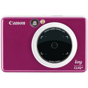 Canon IVY CLIQ+ Instant Digital Camera - Ruby Red - Autofocus