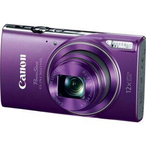 "Canon PowerShot 360 HS 20.2 Megapixel Compact Camera - Purple - 1/2.3"" Sensor - Autofocus - 3""LCD - 12x Optical Zoom - 4x Digital Zoom - Optical (IS)"