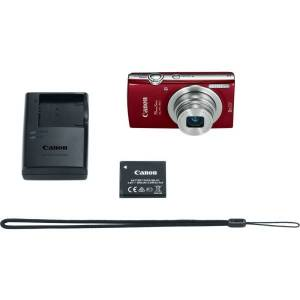 "Canon PowerShot 180 20 Megapixel Compact Camera - Red - 1/2.3"" Sensor - Autofocus - 2.7""LCD - 8x Optical Zoom - 4x Digital Zoom - Optical (IS) - 5152"