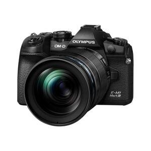 "Olympus OM-D E-M1 Mark III 20.4 Megapixel Mirrorless Camera with Lens - 12 mm - 100 mm - 4/3"" Sensor - Autofocus - 3"" Touchscreen LCD - 8.3x Optical Z"