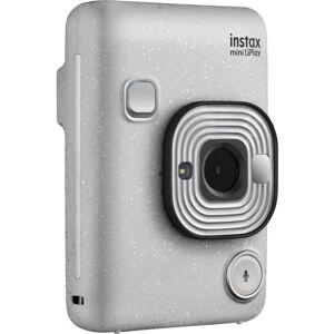 "FUJIFILM U.S.A., INC. instax mini LiPlay Instant Digital Camera - Stone White - 2.7"" LCD - 2560 x 1920 Image"